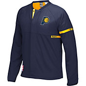 adidas Men's Indiana Pacers On-Court Navy Jacket