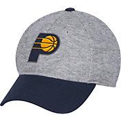 adidas Men's Indiana Pacers Structured Grey Flex Hat