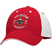 adidas Men's New Orleans Pelicans Red/White Adjustable Hat