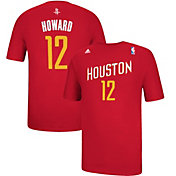 adidas Men's Houston Rockets Dwight Howard #12 Alternate Red T-Shirt