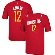 adidas Men's Houston Rockets Dwight Howard #12 Alternate Red T-Shirt