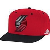 adidas Men's Portland Trail Blazers On-Court Adjustable Snapback Hat