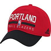 adidas Men's Portland Trail Blazers Practice Performance Adjustable Hat