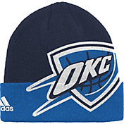 adidas Men's Oklahoma City Thunder Cuffed Knit Hat
