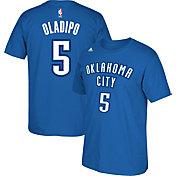 adidas Men's Oklahoma City Thunder Victor Oladipo #5 Blue T-Shirt