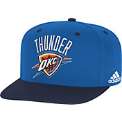 adidas Men's Oklahoma City Thunder On-Court Adjustable Snapback Hat