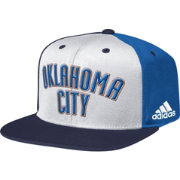 adidas Men's Oklahoma City Thunder Wordmark Tri-Colored Adjustable Snapback Hat