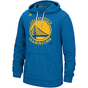 adidas Men's Golden State Warriors climawarm Quick Draw Royal Ultimate Hoodie