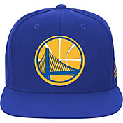 adidas Youth Golden State Warriors Royal Adjustable Snapback Hat