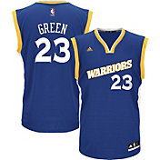 adidas Men's Golden State Warriors Draymond Green #23 Alternate Royal Replica Jersey