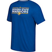 adidas Men's Golden State Warriors climalite Royal T-Shirt