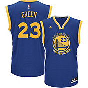 adidas Men's Golden State Warriors Draymond Green #23 Road Royal Replica Jersey