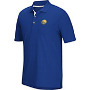 adidas Men's Golden State Warriors climacool Grid Texture Royal Polo