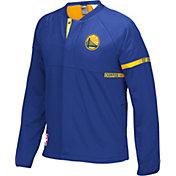 adidas Men's Golden State Warriors On-Court Royal Jacket