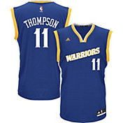 adidas Men's Golden State Warriors Klay Thompson #11 Alternate Royal Replica Jersey