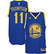 adidas Men's Golden State Warriors Klay Thompson #11 Road Royal Swingman Jersey