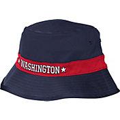 adidas Men's Washington Wizards Striped Navy Bucket Hat