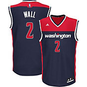 adidas Men's Washington Wizards John Wall #2 Alternate Navy Replica Jersey