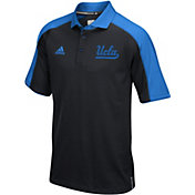 adidas Men's UCLA Bruins Black/True Blue Sideline Performance Polo