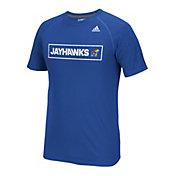 adidas Men's Kansas Jayhawks Blue Scoreboard T-Shirt