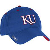 adidas Men's Kansas Jayhawks Blue Sideline Coaches Adjustable Slouch Hat