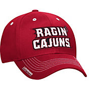 adidas Men's Louisiana-Lafayette Ragin' Cajuns Red Sideline Coaches Structured Flex-Fitted Hat
