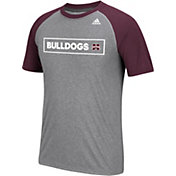 adidas Men's Mississippi State Bulldogs Grey Scoreboard T-Shirt