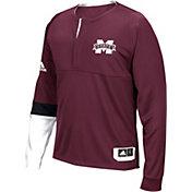 adidas Men's Mississippi State Bulldogs Maroon Shooter Long Sleeve Shirt