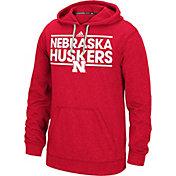 adidas Men's Nebraska Cornhuskers Scarlet Dassler Hoodie