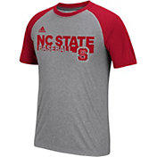 adidas Men's Wolfpack Grey Short Sleeve Baseball T-Shirt