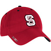 adidas Men's NC State Wolfpack Red Sideline Coaches Adjustable Slouch Hat