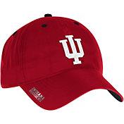 adidas Men's Indiana Hoosiers Crimson Sideline Coaches Adjustable Slouch Hat