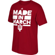 adidas Men's Indiana Hoosiers Crimson 'Made in March' T-Shirt