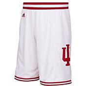 adidas Men's Indiana Hoosiers White Premier Basketball Shorts