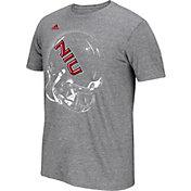 adidas Men's Northern Illinois Huskies Grey Football Helmet T-Shirt