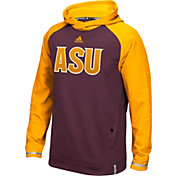 adidas Men's Arizona State Sun Devils Maroon Sideline Player Hoodie