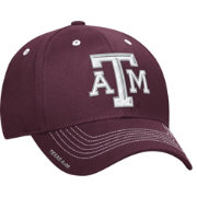 adidas Men's Texas AM Aggies Maroon Sideline Coaches Structured Flex-Fitted Hat