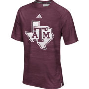 adidas Men's Texas A&M Aggies Maroon Sideline Training T-Shirt