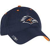 adidas Men's UTSA Roadrunners Blue Sideline Coaches Adjustable Slouch Hat