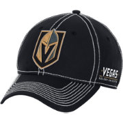 adidas Men's Vegas Golden Knights Black Structured Flex Hat