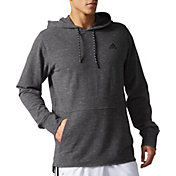 adidas Men's Essentials Heather Pique Hoodie