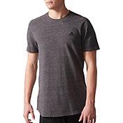 adidas Men's Essentials Heathered Pique T-Shirt