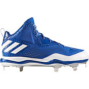adidas Men's PowerAlley 4 Mid Metal Baseball Cleats