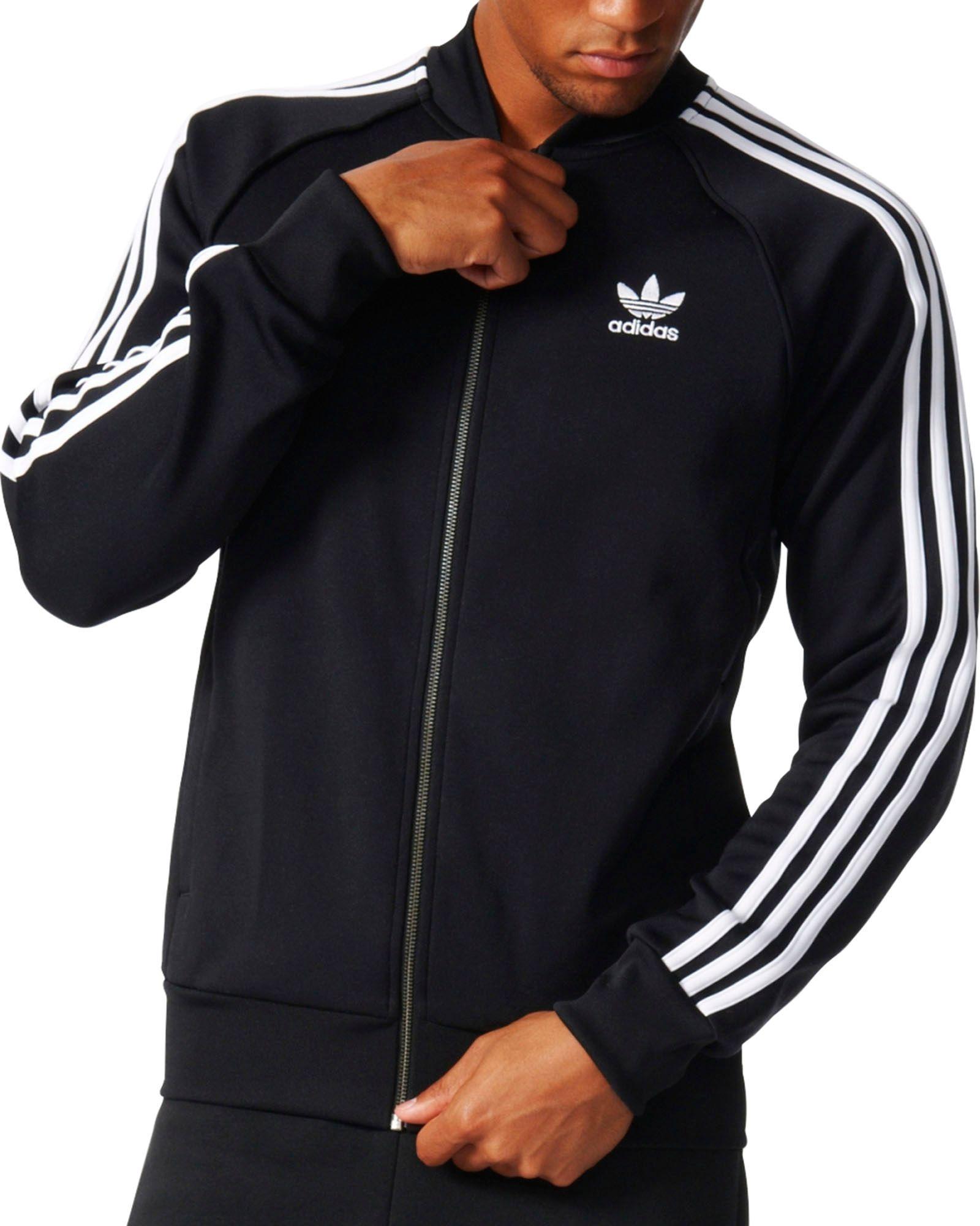 Adidas Originals Superstar Track chaqueta de los hombres de Dick 's Sporting goods