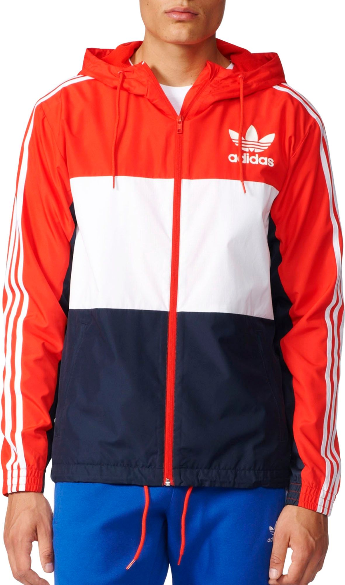 adidas Originals Men's California Windbreaker Jacket | DICK'S ...