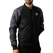adidas Men's Sports Luxe 3-Stripes Bomber Jacket