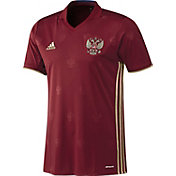 adidas Men's Euro 2016 Russia Replica Home Jersey