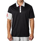 adidas Men's climacool Sleeve Block Golf Polo
