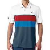 adidas Men's USA Engineered Stripe Golf Polo