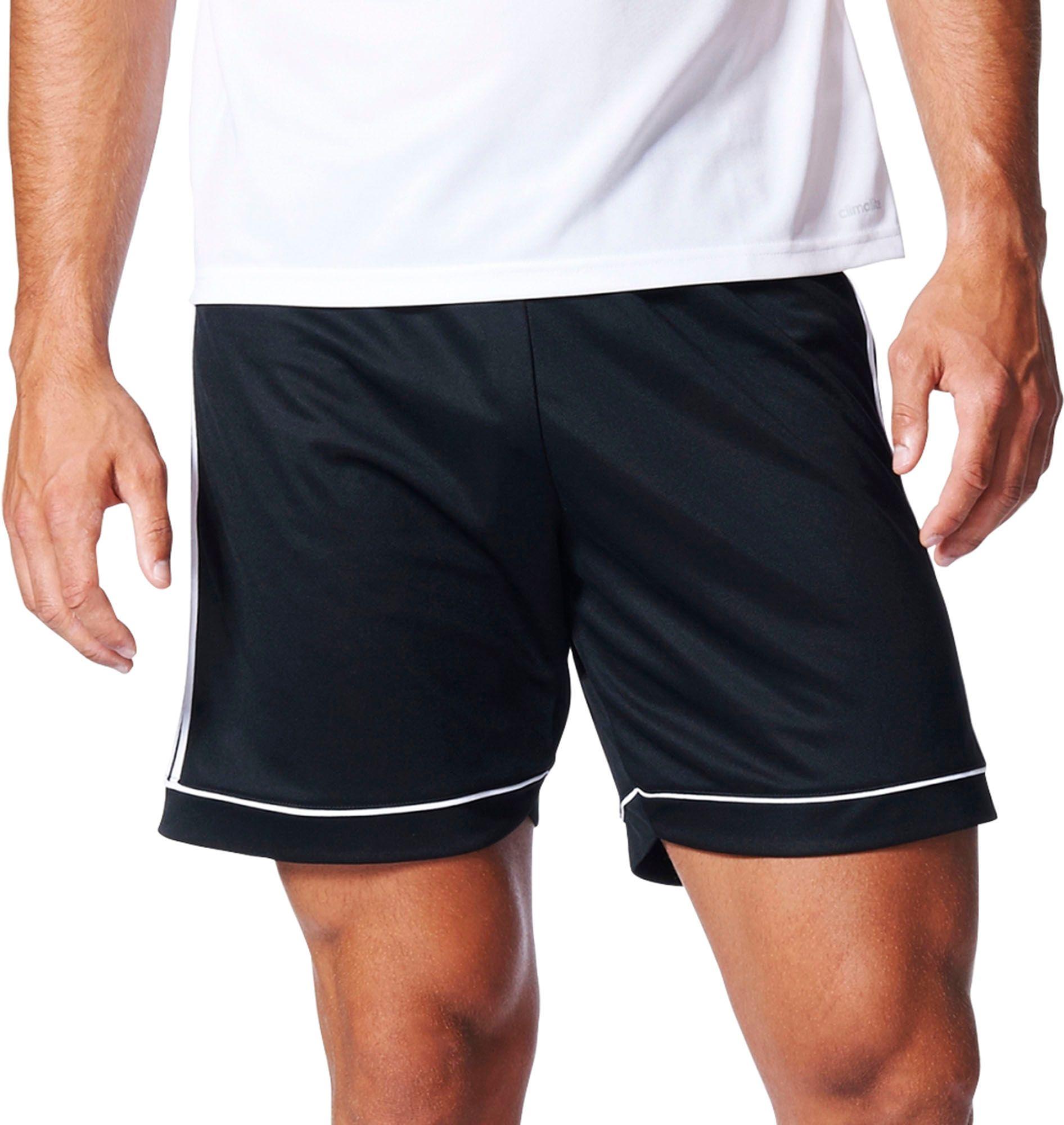 adidas black soccer shorts